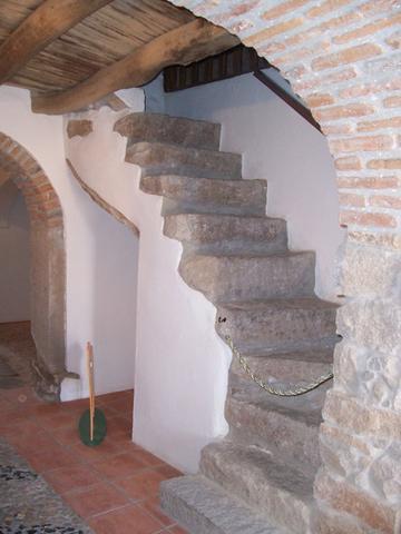 Escalera de Acceso a Camara