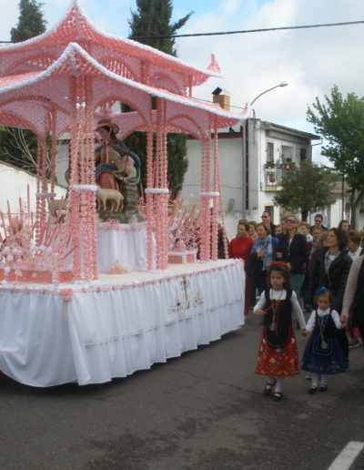 Carroza de la Virgen