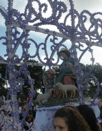 Carroza de la Virgen 2011