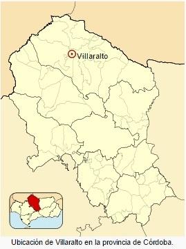 Villaralto en la provincia